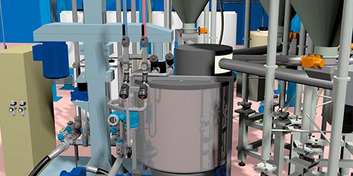 Sistemi automatici di dosaggio per stamperia