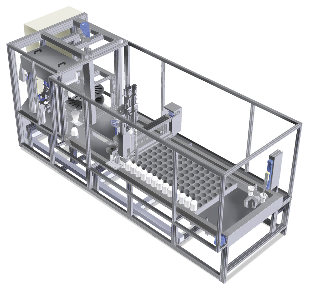 Automatic dosing system for laboratory - SMP
