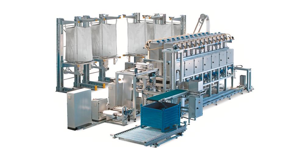 Sistemi automatici per il dosaggio di mescole di gomma - SAM-R