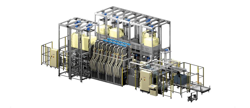 Sistema di Dosaggio Automatico - Color Service