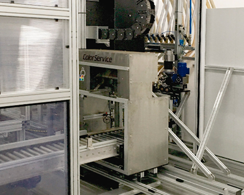 Automatic dosing system for dyeing production - TRS