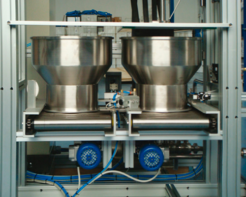 Automatic dosing system for dyeing production - JIT