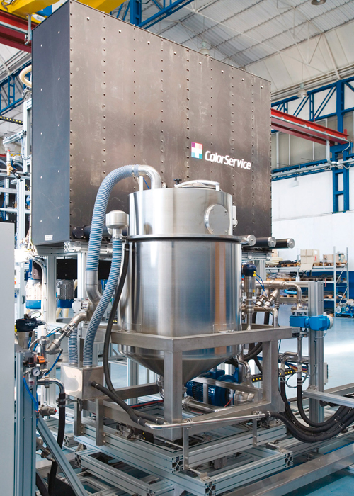 Automatic dosing system for dyeing production - SGQ