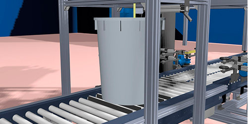 Automatic dosing system for printing production - Printing with Liquid Dyes
