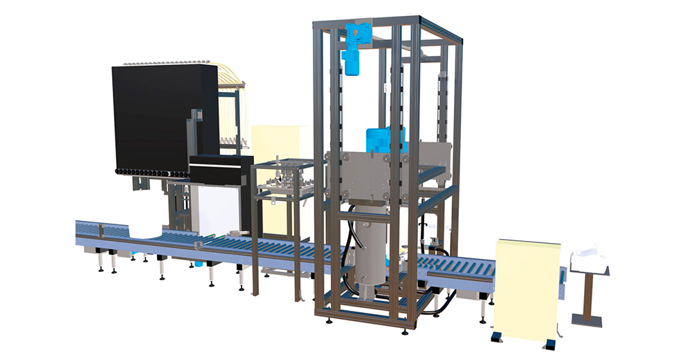 Automatic dosing system for printing production - Printing with powder dyes